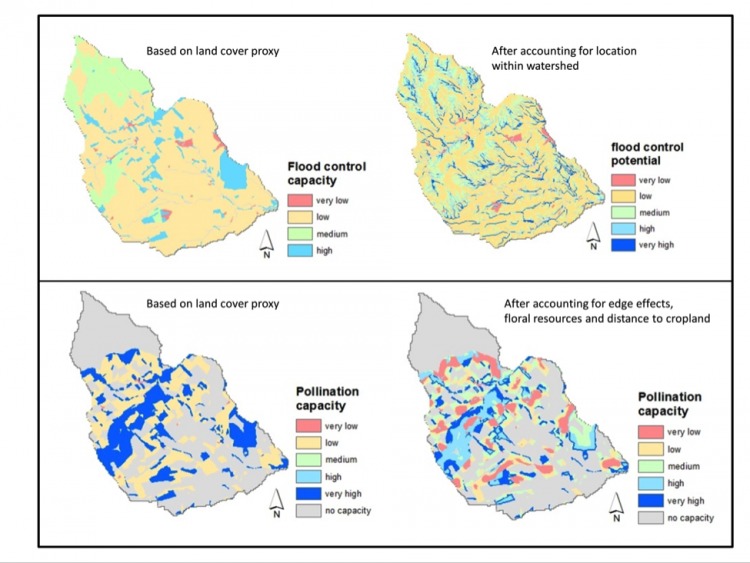 landscape structure and mapping ecosystem services operas